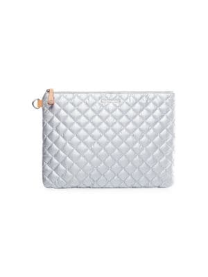 Metro Quilted Nylon Pouch