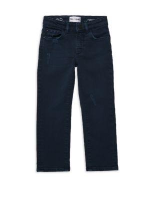 DL PREMIUM DENIM   Little Boy's Hawkeye Skinny Jeans   Goxip