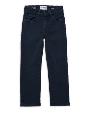 DL PREMIUM DENIM   Boy's Hawkeye Skinny Jeans   Goxip