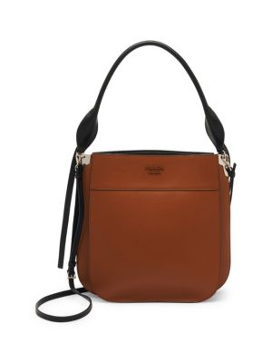 Large Margit Leather Hobo Bag