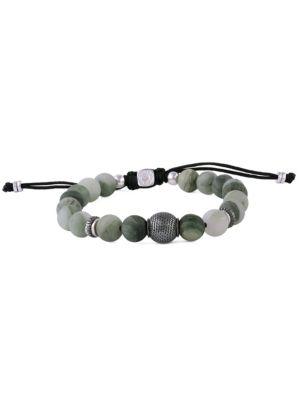 Macramé Stratus Stone & Sterling Silver Bracelet