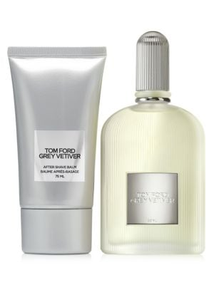 TOM FORD | Grey Vetiver Two-Piece Eau de Parfum & After Shave Balm Set | Goxip