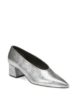 Rafe Metallic Leather Pumps