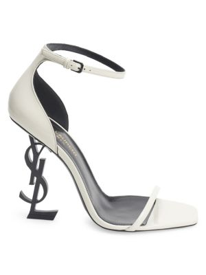 Opyum Leather High-Heel Sandals