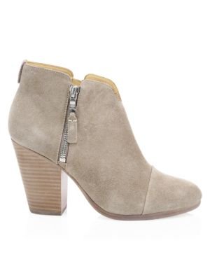 Margot Suede Ankle Boots