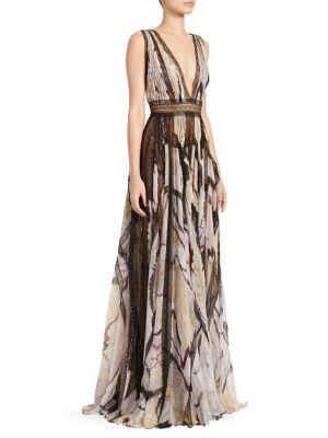 Marilyn Butterfly Maxi Dress