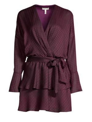 Marcel Print Wrap Dress