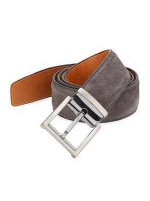 COLLECTION BY MAGNANNI Adjustable Suede Belt