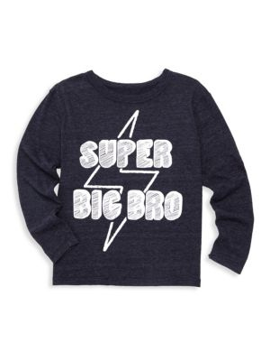 Little Boy's & Boy's Super Big Bro Tee