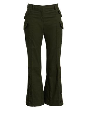 Articulated Cropped Trousers