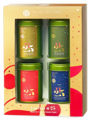 Four-Piece Loose Leaf Tea Miniatures Box Set