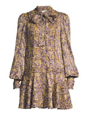 Monika Drop Waist Dress