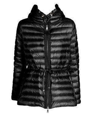 Raie Quilted Jacket, Black
