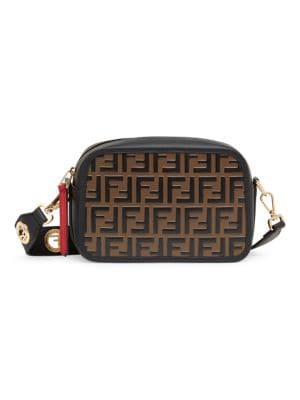 Ff Grommet Strap Camera Case by Fendi