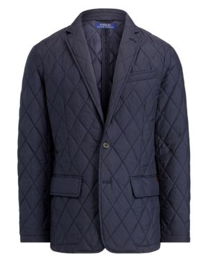 Matte-Finish Quilted Jacket