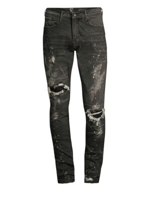 Windsor Distressed Stretch Cotton Jeans