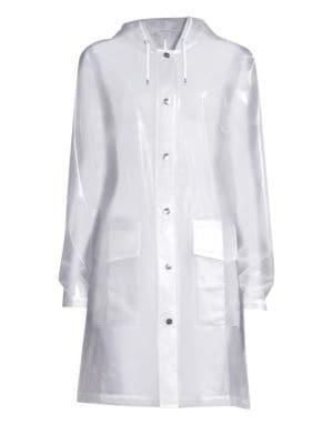 LTD Mirage Capsule Hooded Translucent Coat