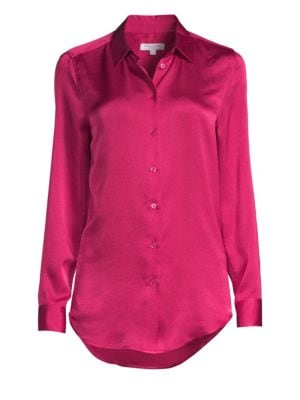 Essential Hammered Satin Blouse