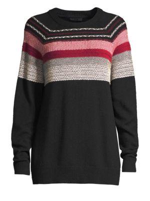 Merino Wool Fair Isle Sweater