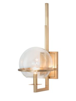 Saturn Brass Wall Sconce
