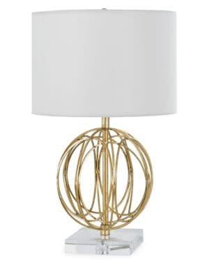 Ofelia Gold Leaf Table Lamp