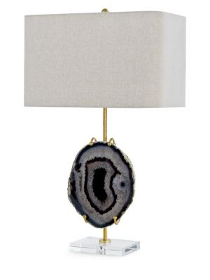 Exhibit Agate Stone Table Lamp