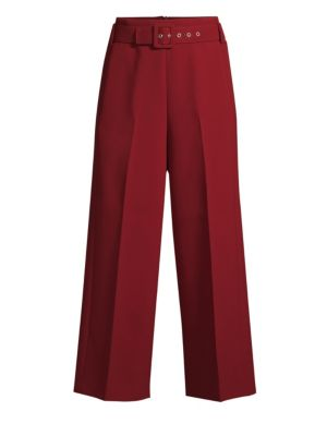 Trima Wide Leg Crop Trousers
