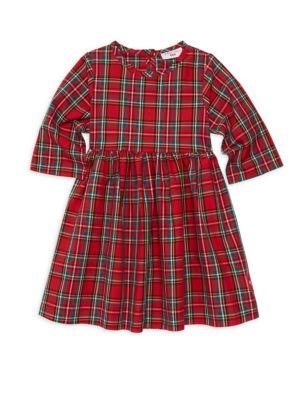 Little Girl's & Girl's Winnie Holli Plaid A-Line Dress