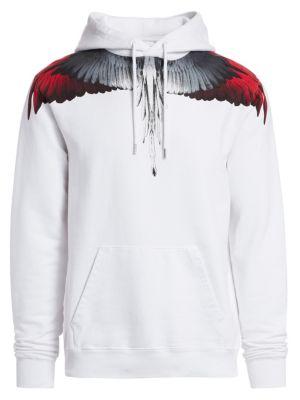 Wings Cotton Hoodie