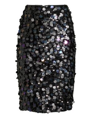 Multi-Sequin Pencil Skirt