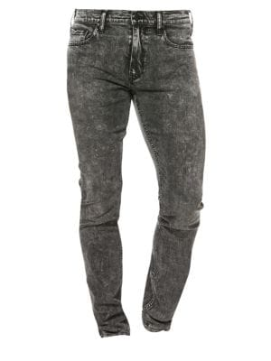 Lennox Acid Wash Slim-Fit Jeans