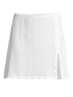 Textured Cover-Up Skirt