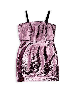 Girl's Sequin Dress