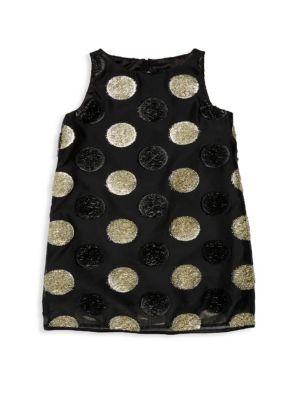 Girl's Angular Shift Dress