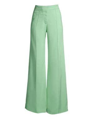 Flared Pintuck Pants