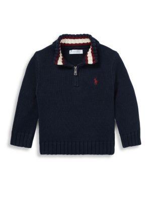 Baby Boy's Chunky-Knit Sweater
