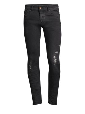 Sleenker Distressed Skinny Jeans