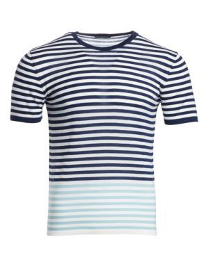 MODERN Striped Merino Wool T-Shirt