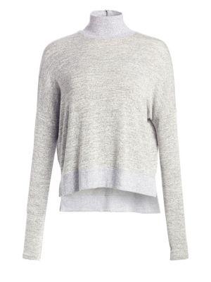 Bowery Heathered Turtleneck Sweater