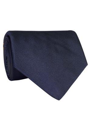 Newport Crossed Flag Silk Tie