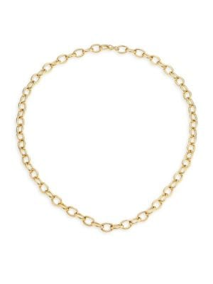 Princess Charms 18K Gold Chain Necklace
