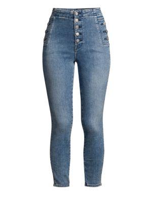 Natasha Sky High Cropped Skinny Jeans