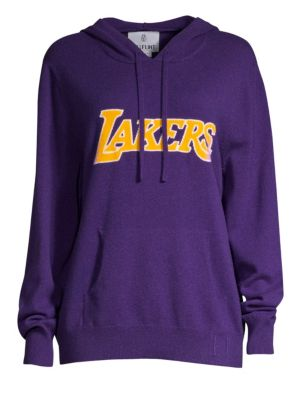 Hillflint Lakers Cashmere Hoodie In Purple  fb07261d802c