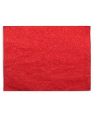 Washable Paper 4-Piece Placemat Set