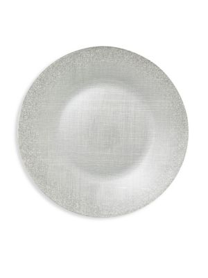 Glitter Glass Large Plate