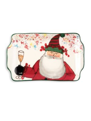 Old St. Nick 2018 Limited Edition Rectangular Plate