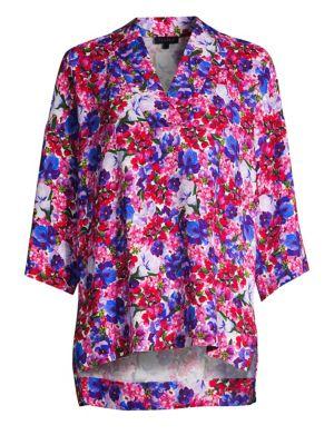 Narineta Floral Print Tunic