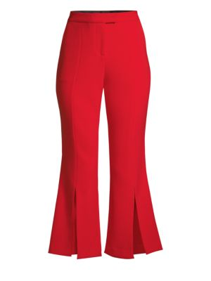 Eva Cropped Flared Trousers