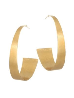 DEAN DAVIDSON | 22K Goldplated Hoop Earrings | Goxip