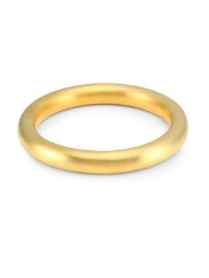 DEAN DAVIDSON | 22K Goldplated Bangle Bracelet | Goxip